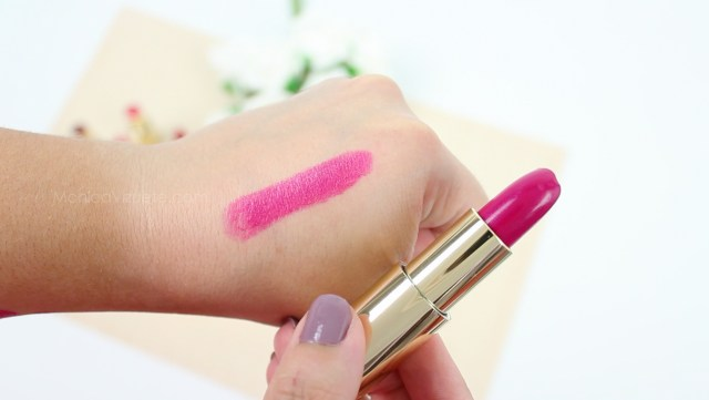 Monica-Vizuete-Swatches-Pierre-Rene-Royal-Mate-lipstick-12-Electric Fuchsia
