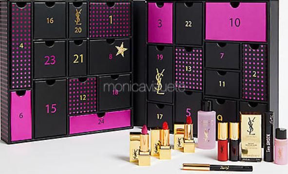 Calendario-adviento-YSL-monica-vizuete