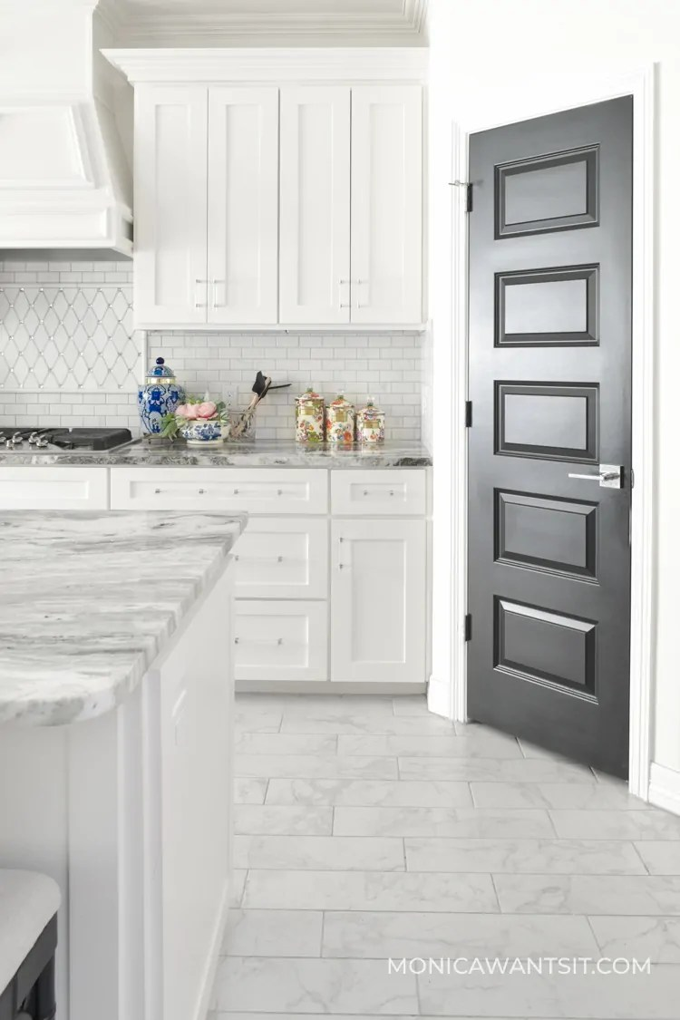 Homeowners Guide To Black Interior Doors Monica Wants It