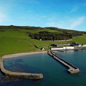 Lambay from the air