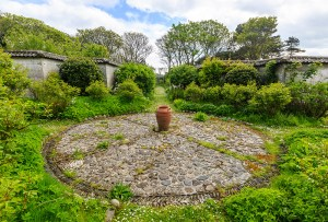 Lambay walled garden