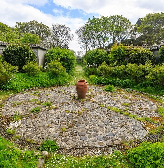 Lambay walled garden
