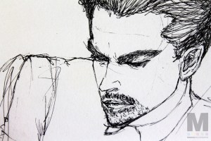 Discarded Dicaprio Sketch, 2014