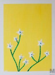 Infinite Desires, Oil over acrylic on 18×24″ canvas