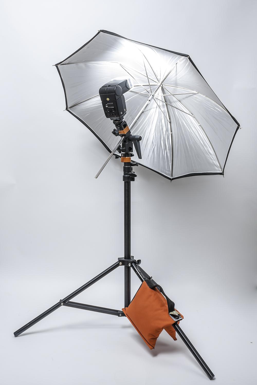 Setup Umbrella Light