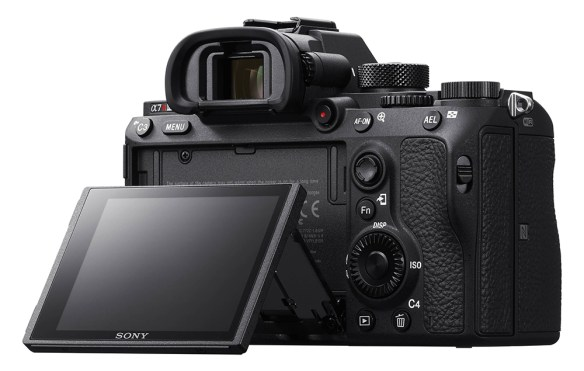 Sony A7R III rear view