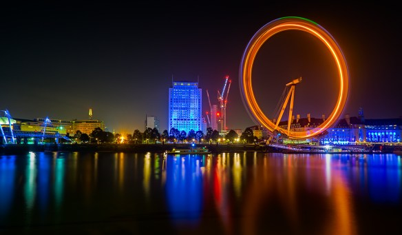 the London Eye in Motion