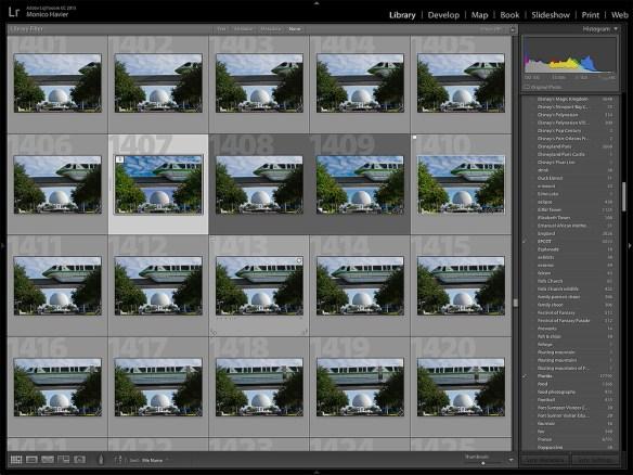 Lightroom screen capture