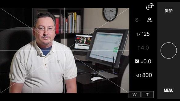 Screen capture of AL H198 in studio