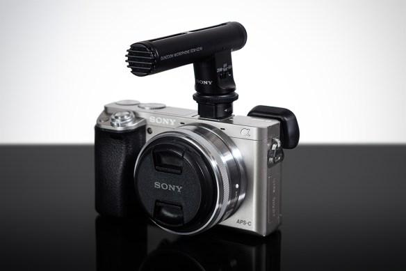 Sony a6000_w/ECM-GZ1M microphone