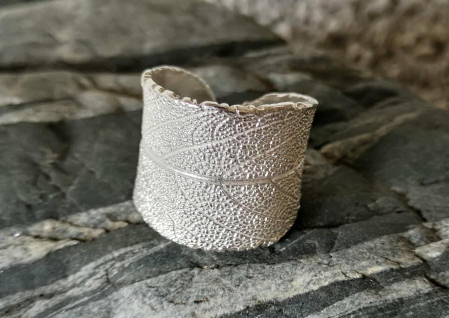 Ring aus Feinsilber