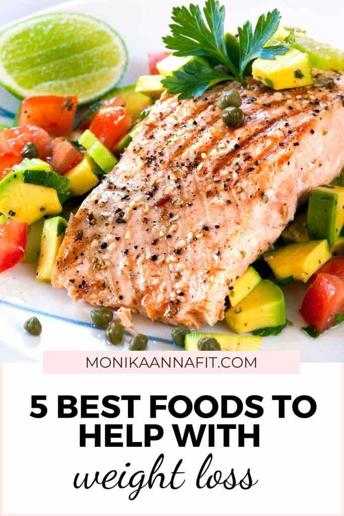 5 best foods to help with weight loss