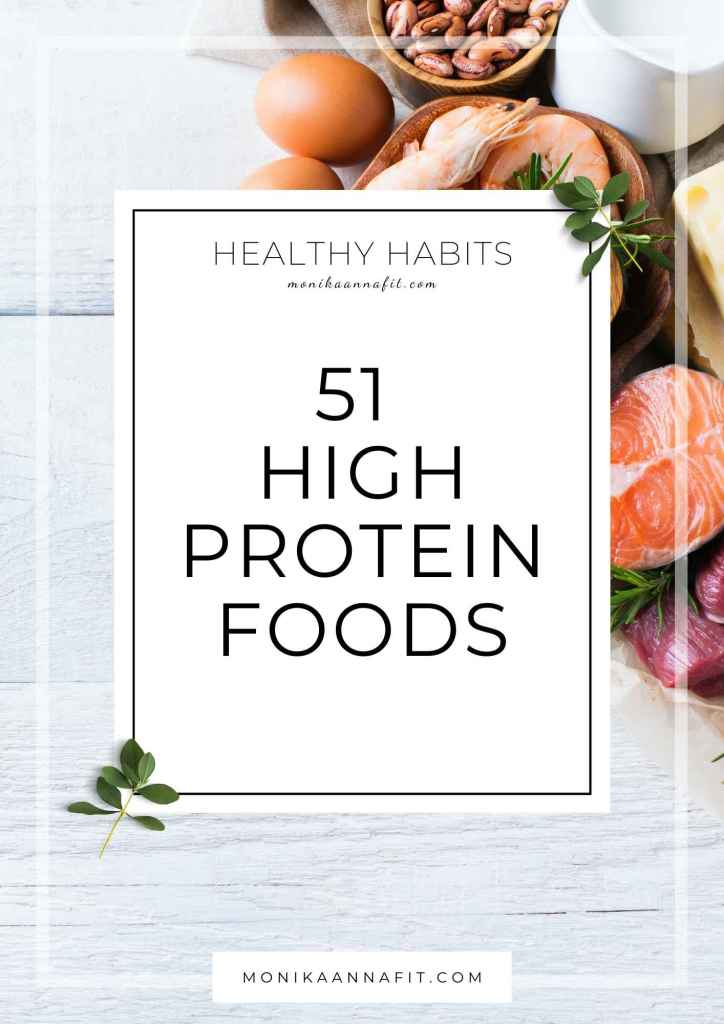 51 best protein food for weight loss - monikaannafit.com