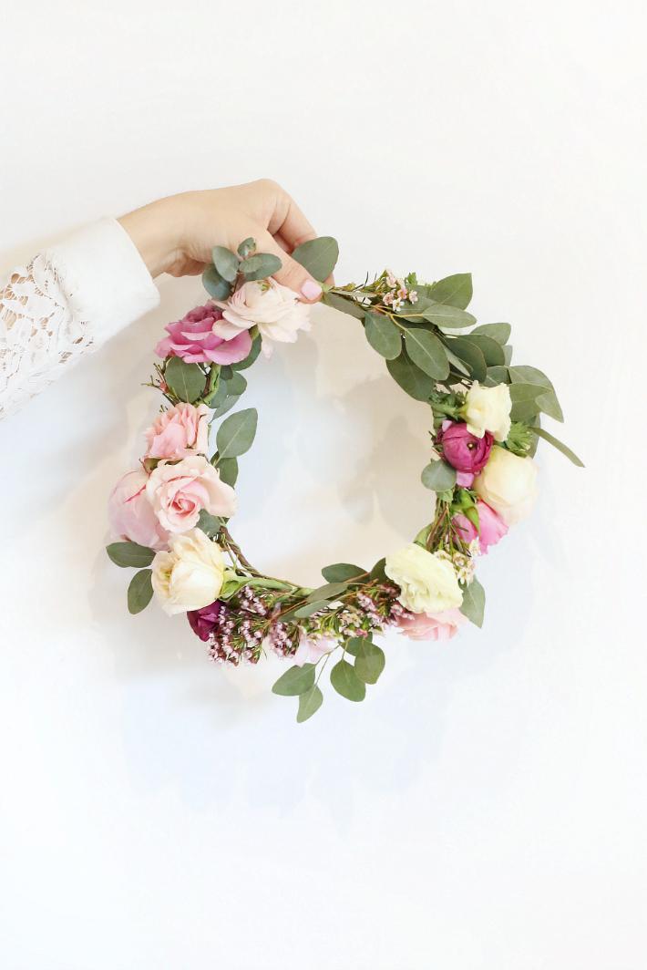 DIY Floral Crowns  Monika Hibbs