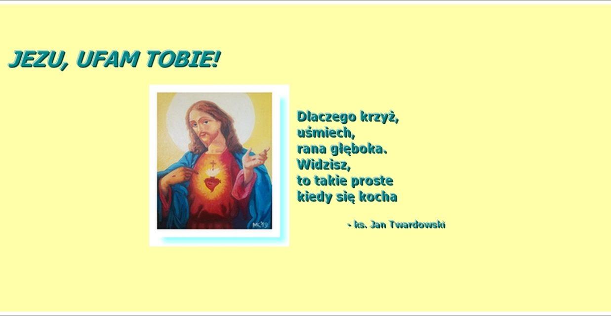 JEZU, UFAM TOBIE!!!