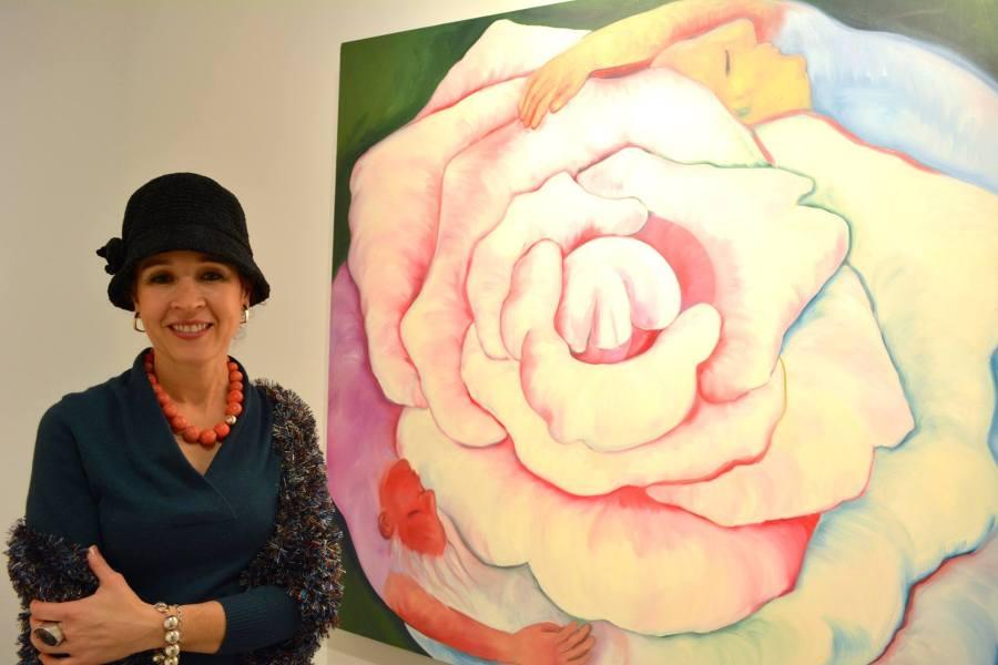 Monika Ruiz with Yin Yang