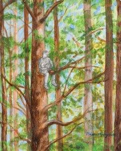 Monika Ruiz Art - Boo Tree