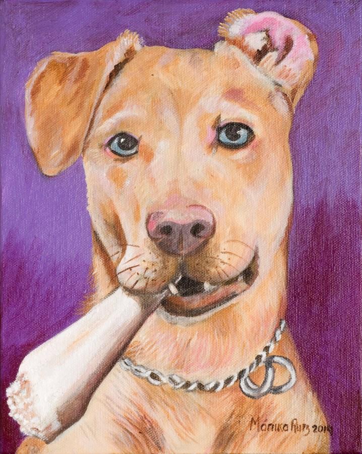 Monika Ruiz Art - Pet Portrait