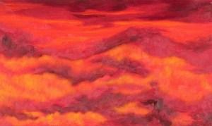 Monika Ruiz Art - Gloria Red Mountain
