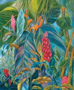Monika Ruiz Art - Pink Ginger