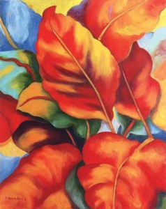 Monika Ruiz Art - Red & Yellow
