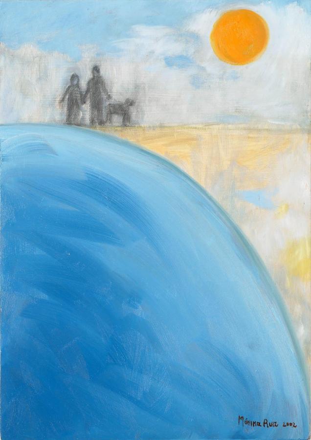 Monika Ruiz Art - Beach Stroll