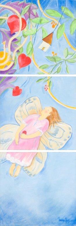 Monika Ruiz Art - Fly Fly Butterfly