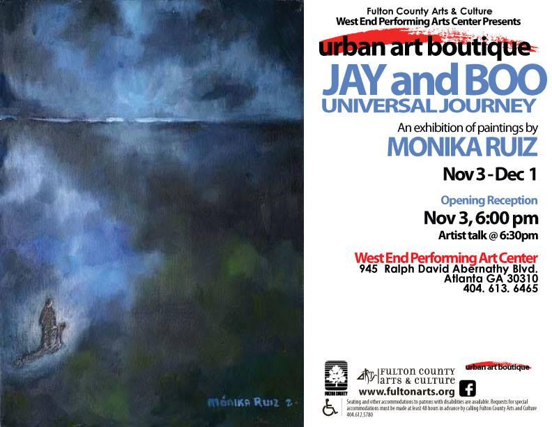 Jay and Boo Universal Journey by Monika Ruiz