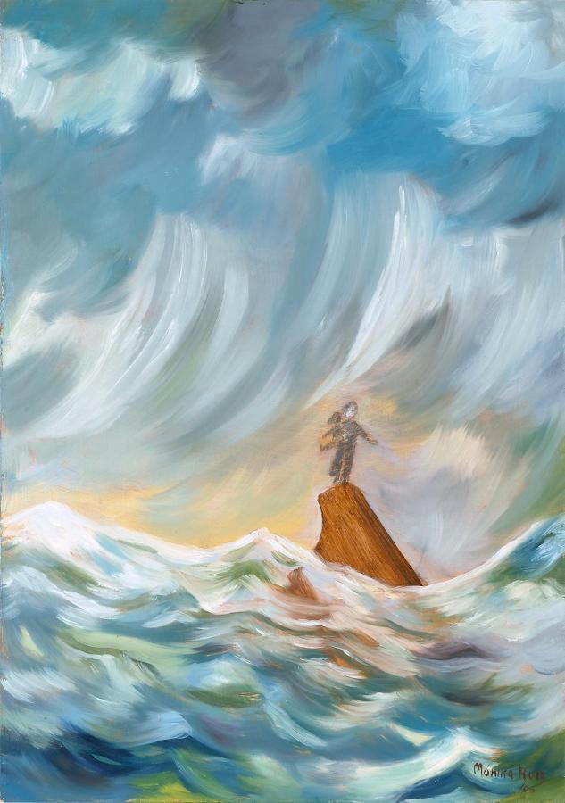 Monika Ruiz Art - Jay & Boo Series - The Storm
