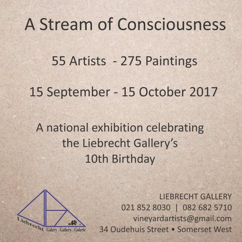 'A stream of consciousness' group exhibition