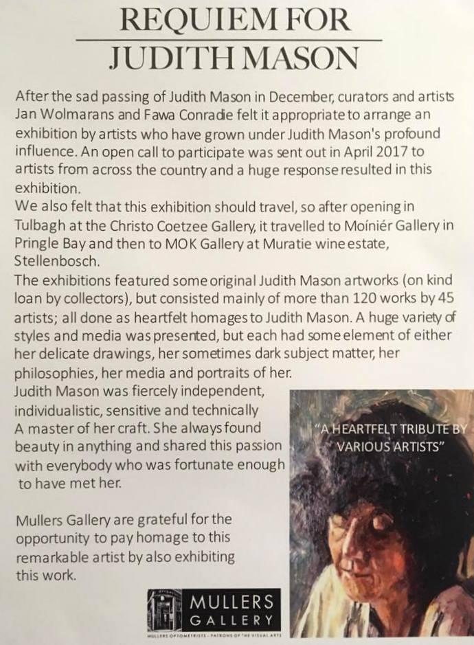 Judith Mason Visual Requiem