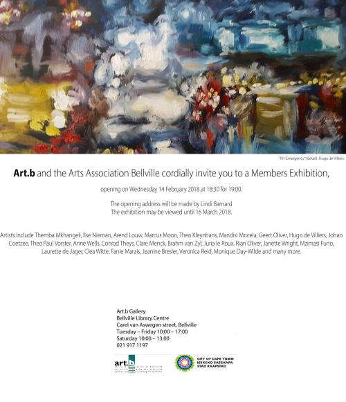 Members exhibition Art.B, Belville