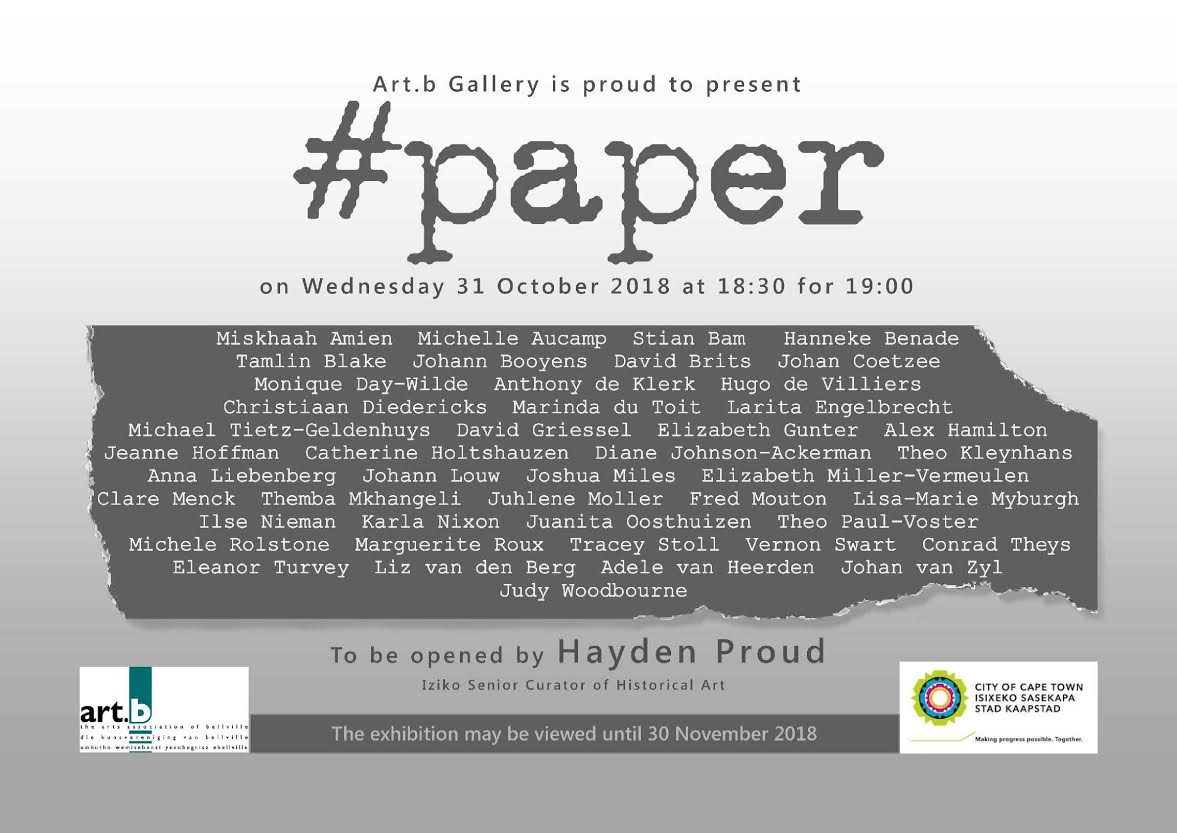 Art on paper, group exhibition