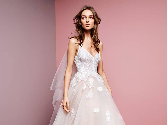 Monique Lhuillier Blush Wedding Dresses _Wedding Dresses