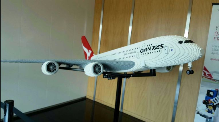 Qantas Lego