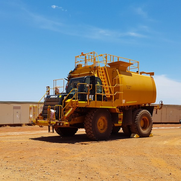 Watertank Goldfields Mine Western Australia