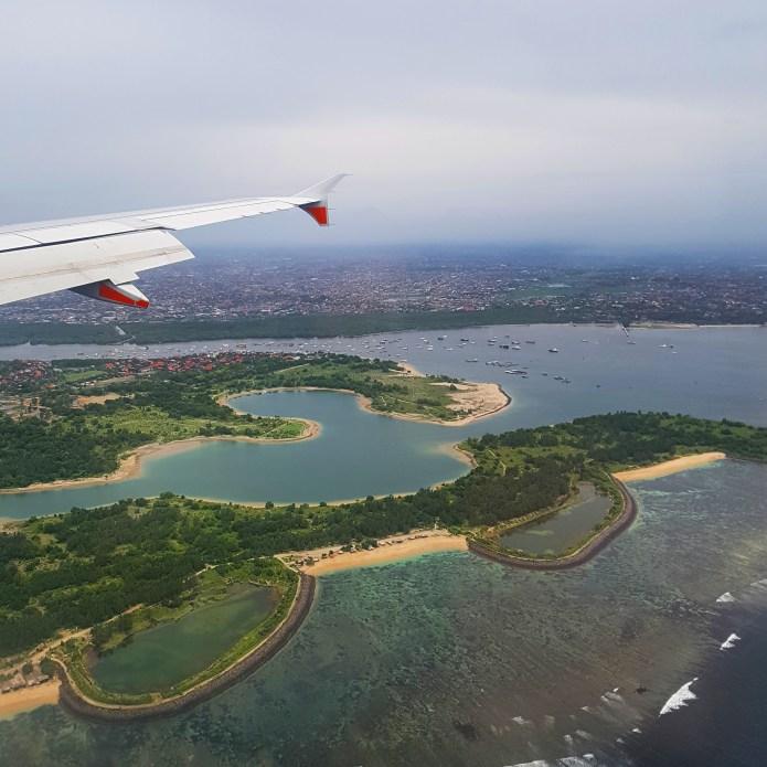 Flight to Kuta, Bali