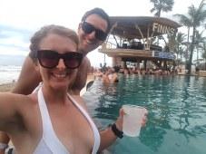 Pool Finns Beach Club Bali