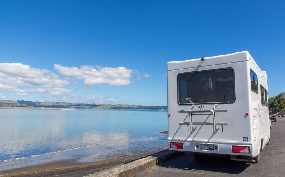 Britz Campervan Kawhia New Zealand