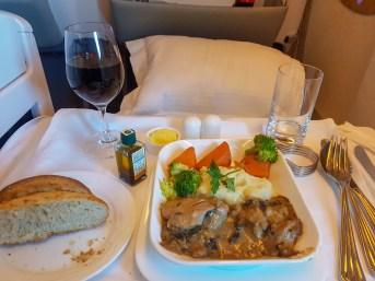 Emirates Business Class Flight 5