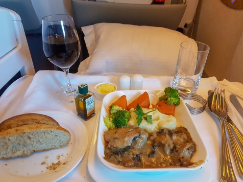 Emirates Business Class Flight 5