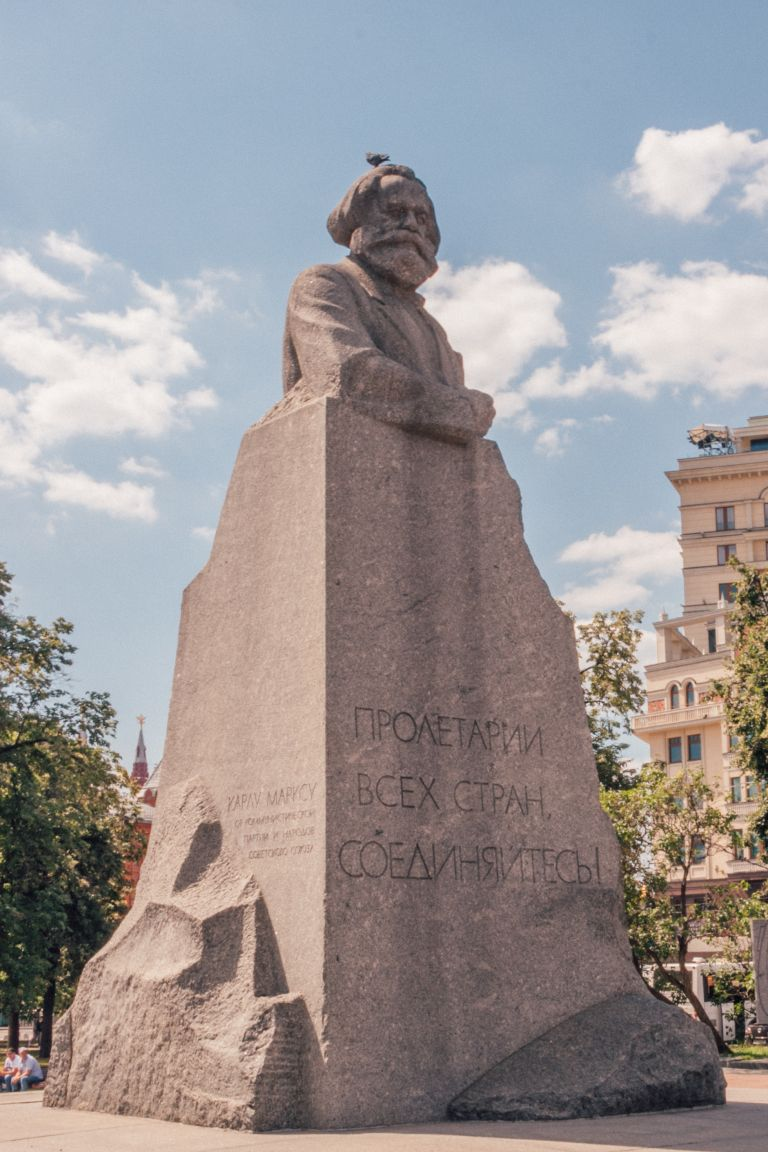 Karl Marx Monument Moscow