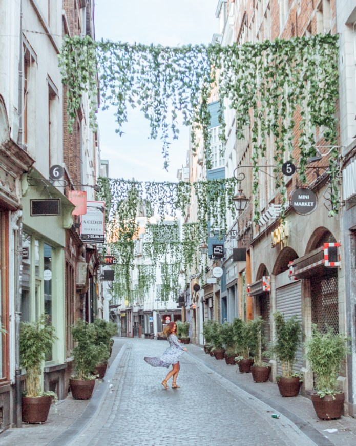 Brussels City Streets Belgium