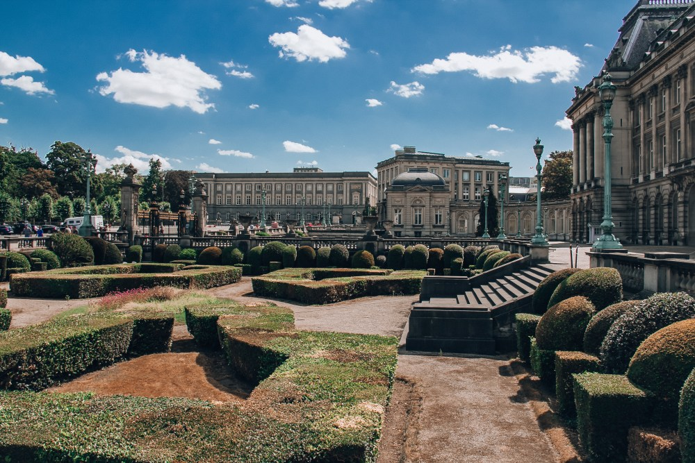 Royal Palace of Brussels Gardens