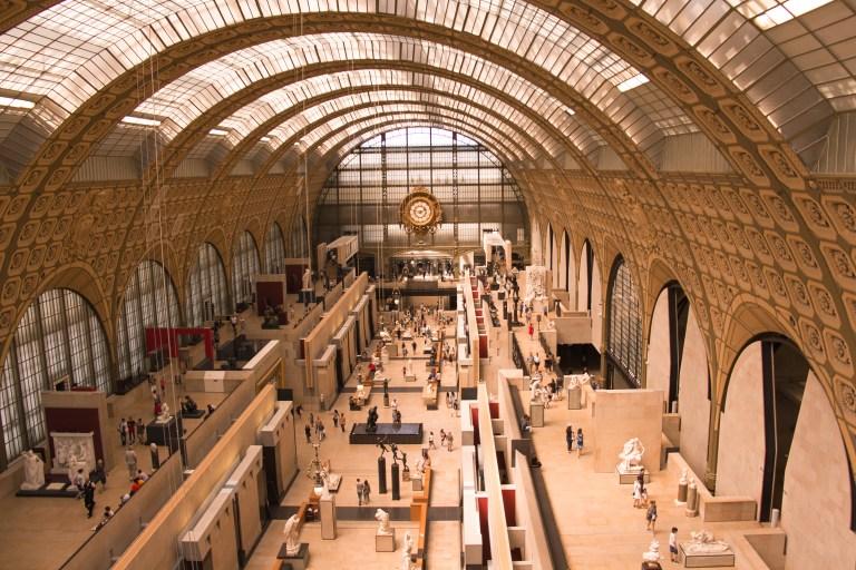 Musee dOrsay Paris Main Hall