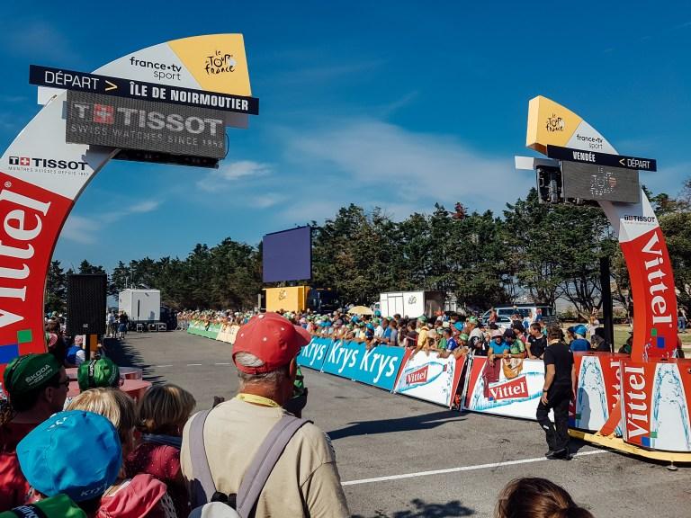 Stage 1 Tour de France Noirmoutier Start Line