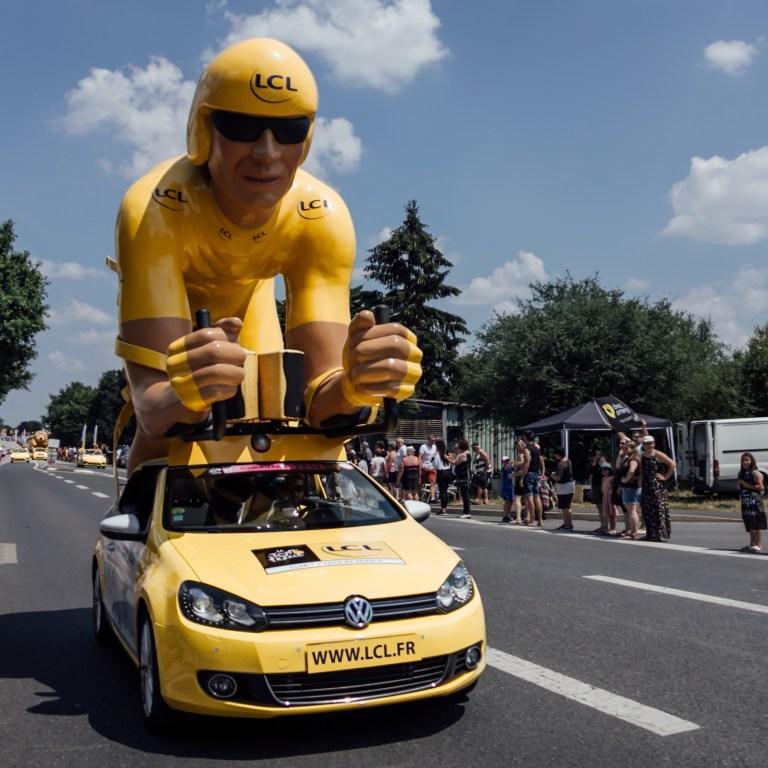 Stage 2 Bouffere Tour de France Caravan