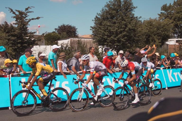 Stage 2 La Roche-sur-Yon Tour de France Yellow Jersey