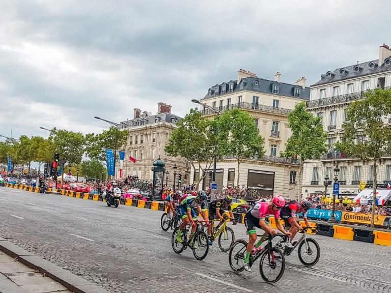 Stage 21 Tour de France Champ Elysees Final Lap