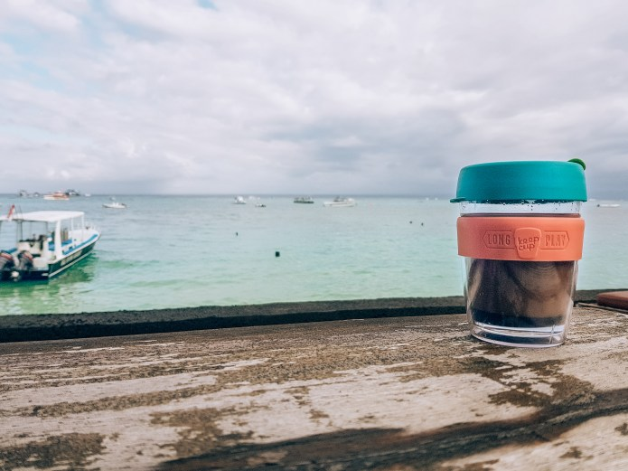 Balinese Style Coffee in a Keep Cup